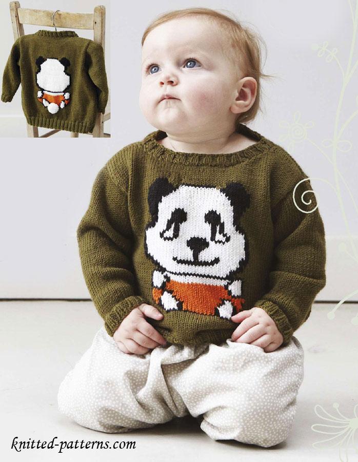 Baby Jumper Knitting Pattern Free