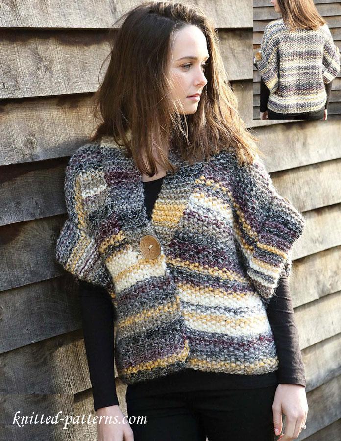 Women S Jacket Free Knitting Pattern