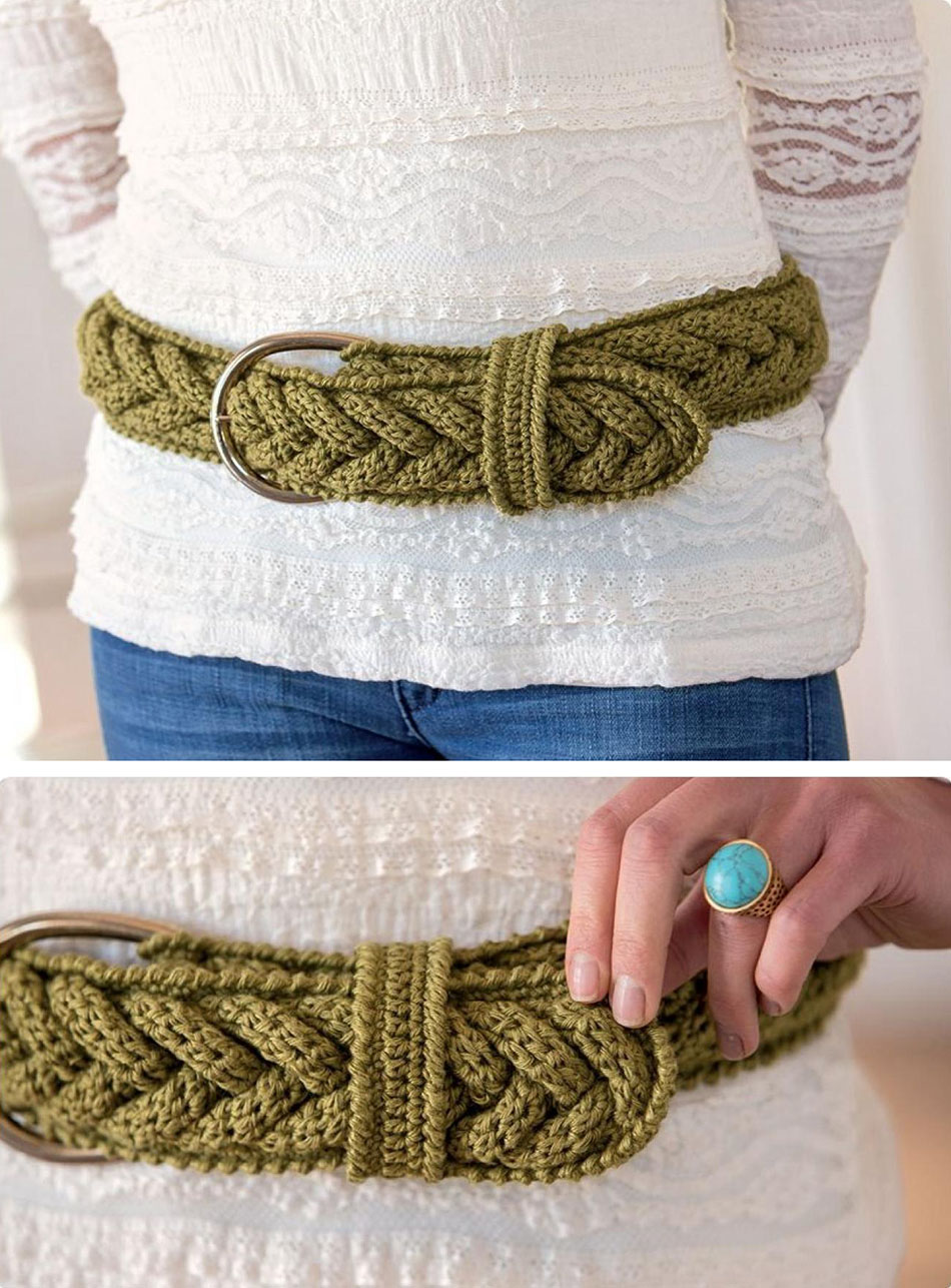 Belt Crochet Pattern Free