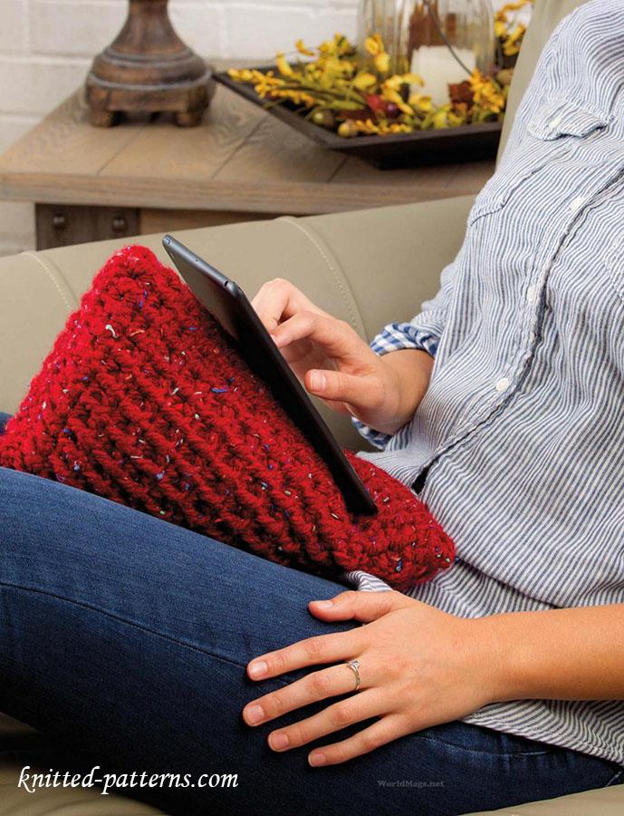 Crochet Pattern Tablet Wedge