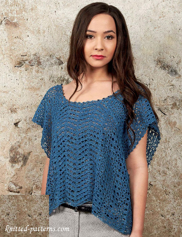 Summer top crochet pattern