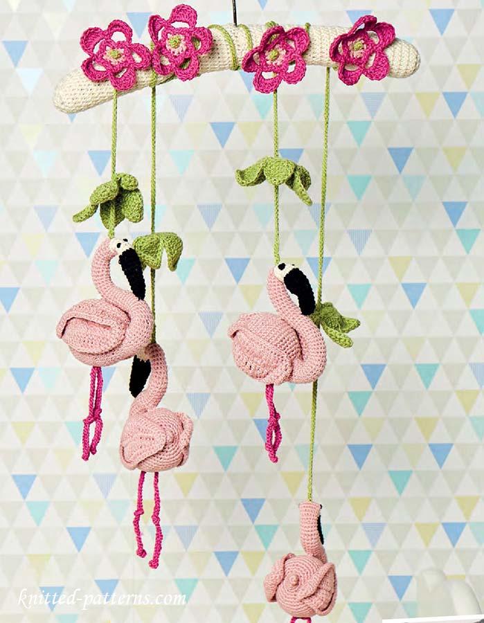 Baby mobile crochet pattern - Designer babymobel ...