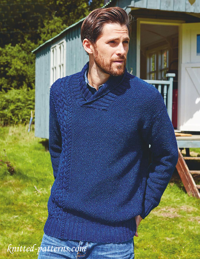 Free Knitting Pattern Mens Sweater