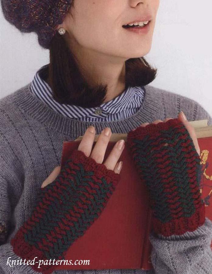 Hand Warmer Crochet Pattern Free