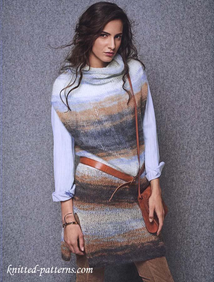 Kid Mohair Silk Tunic Knitting Pattern Free