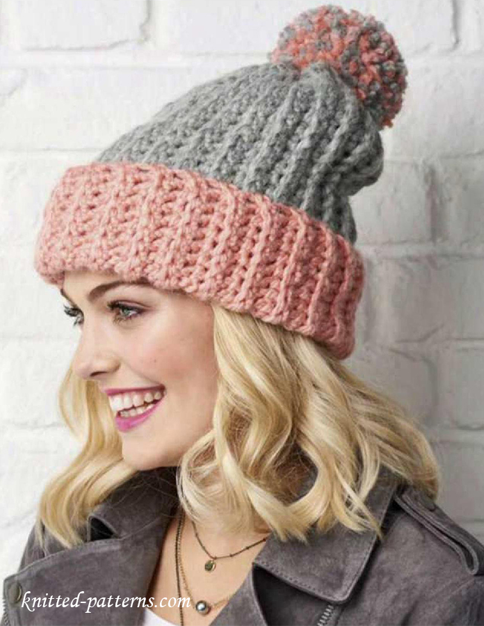 Bobble Hat Crochet Pattern Free