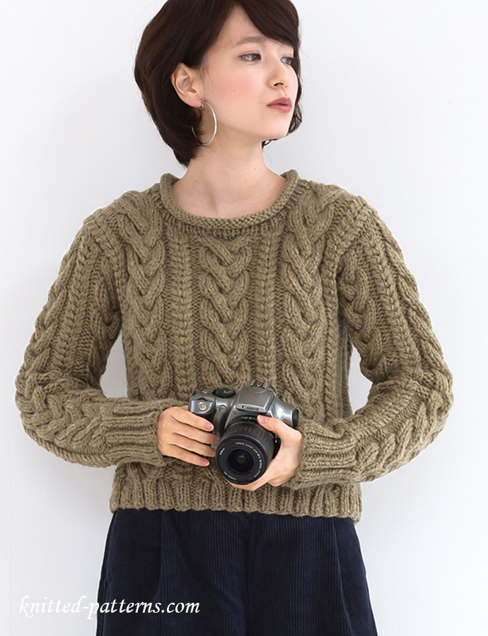 Free knitting pattern sweater