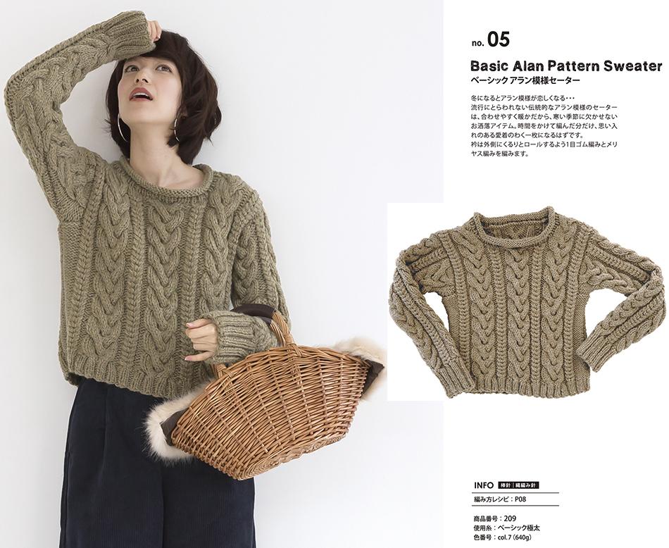 Free knitting pattern sweater