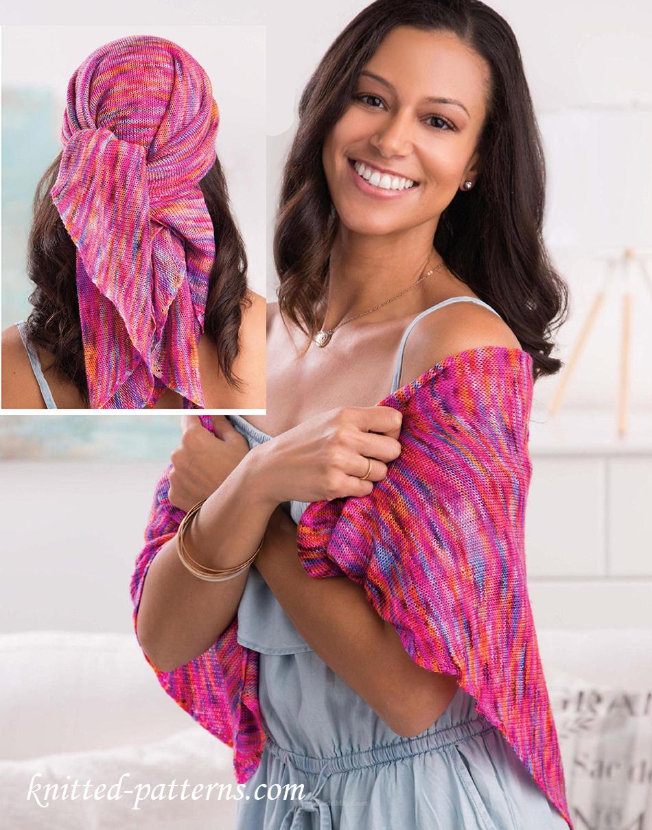 Head wrap knitting pattern free