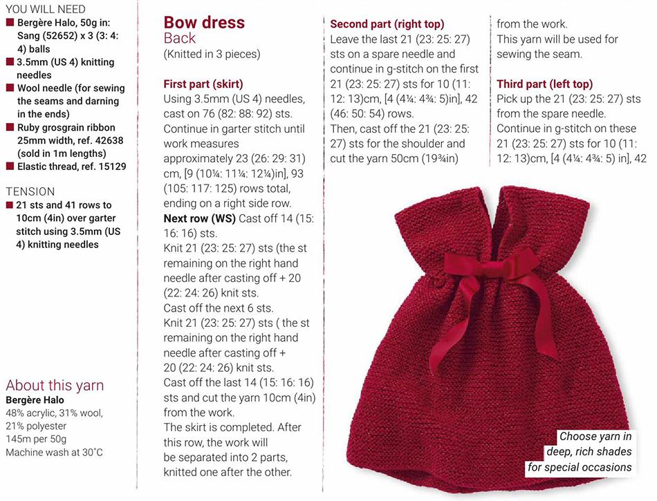 f633fa38d Baby dress knitting pattern free