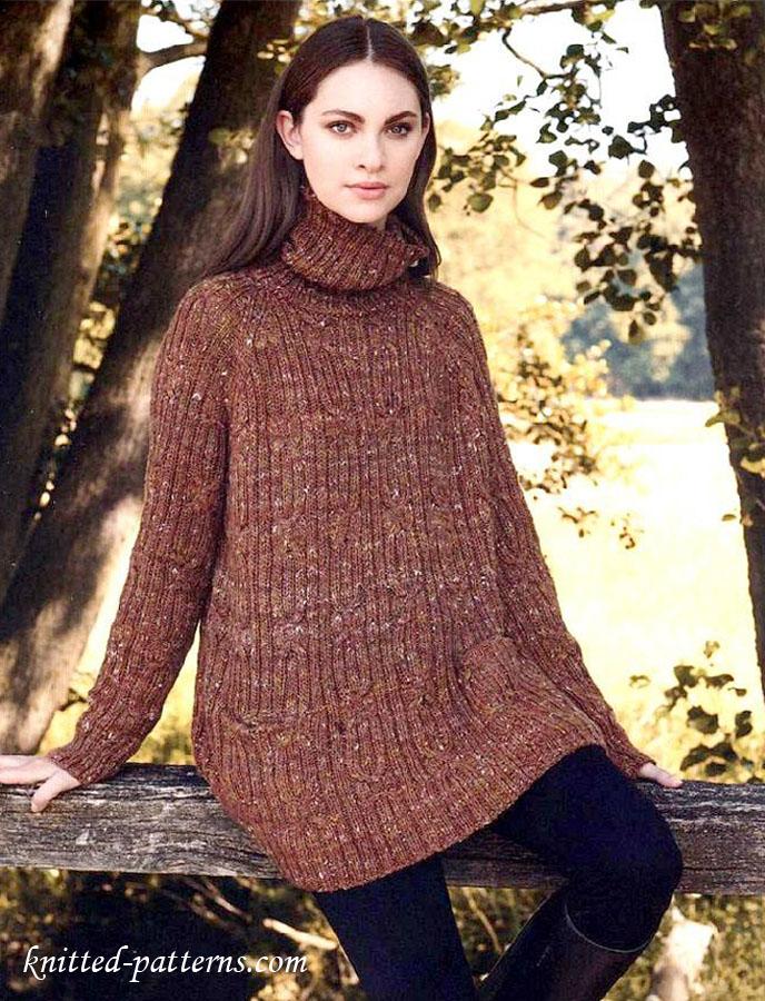 Raglan Pullover Knitting Pattern Free