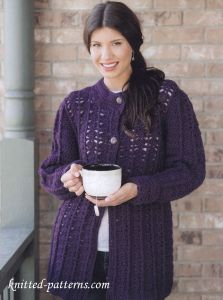 Free Crochet Women's Coat Patterns