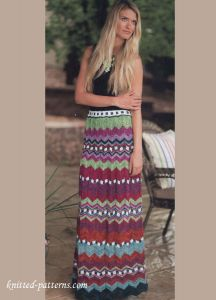 Knit Maxi Skirt Missoni