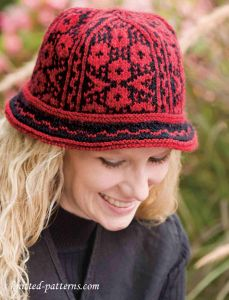 Knitted cloche pattern free
