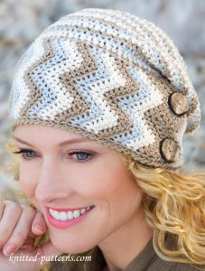 Women's hat crochet pattern free