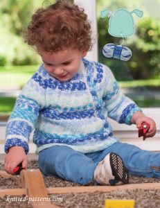Children's cardigan knitting pattern free